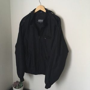 Black members only jacket